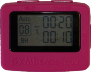 Gymboss Intervall Timer Rosa