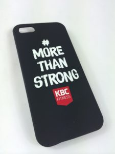KBC Fitness iPhone 5 fodral