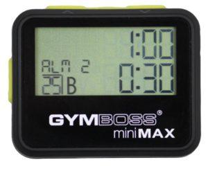 Gymboss miniMAX Intervall Timer (Svart/Gul)