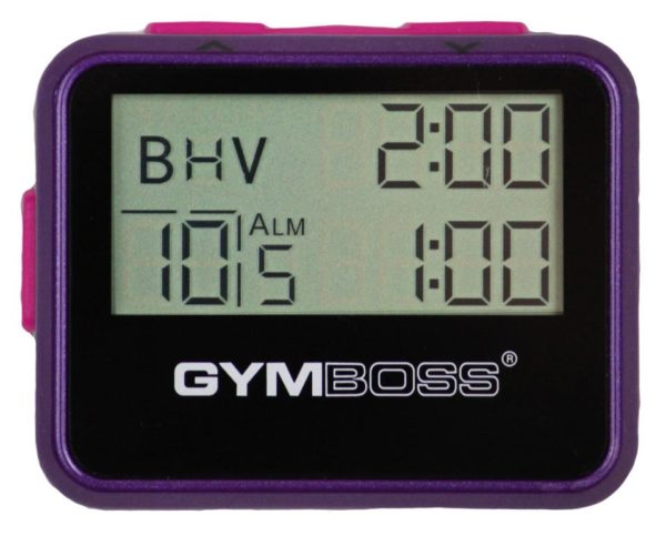 Gymboss Intervall Timer (White)