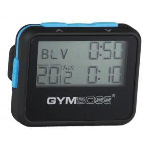 Gymboss Intervall Timer (Svart/Blå)