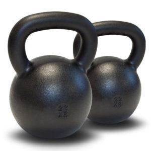 Dubbla Kettlebells 2 x 22 kg