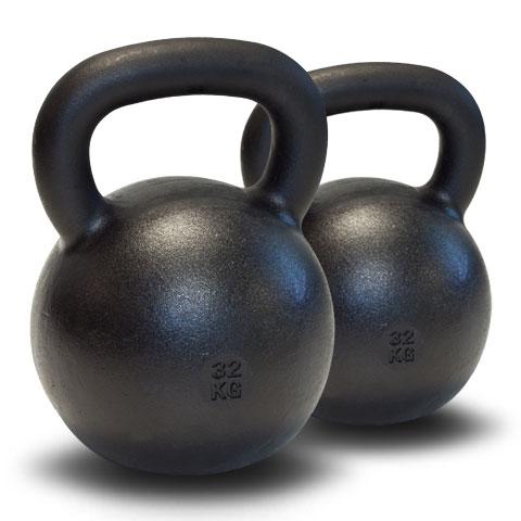 Dubbla Kettlebells 2 x 32 kg