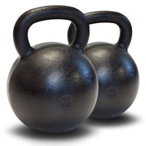 Dubbla Kettlebells 2 x 48 kg