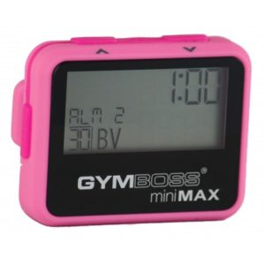 Gymboss miniMAX Intervall Timer Rosa