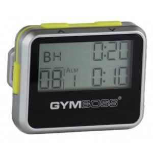 Gymboss Intervall Timer (Silver)